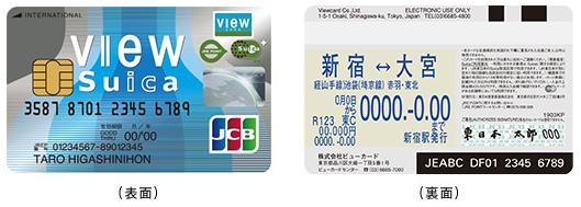 ビュー・スイカカードの定期券とSuica機能